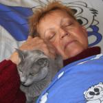 Calin avec sa maman